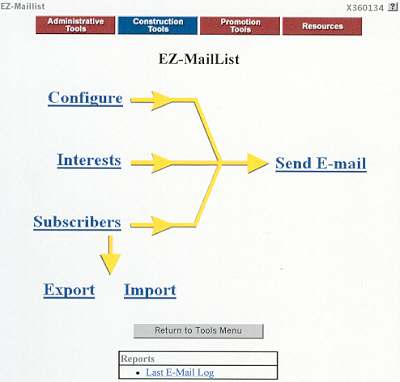 EZ-Mail List