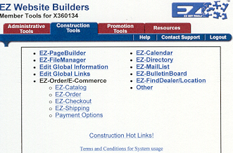 Construction Tools with EZ-Net Tools